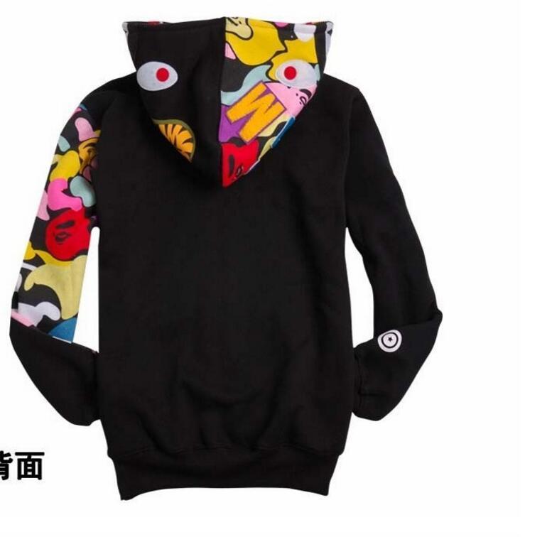 Ocasional de los hombres de colores para hombre de la capa hoodies ocasionales Agregar chaqueta del algodón de la marca Ropa para hombre rompevientos abrigos Hombre O