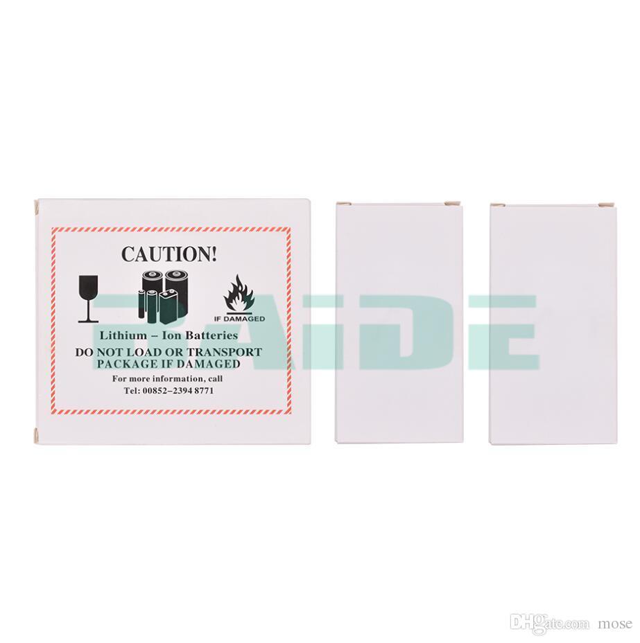Avec prudence Fire 2 en 1 Batterie Box pour iPhone 5 6 7 plus de papier Paquet d'emballage Emballage 1200set / lot de cas
