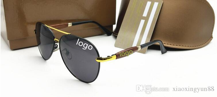 Men's brand designer polarized sunglasses Coating Mirror Sun Glasses oculos Male Eyewear Accessories For Men G5001 Eyewear
