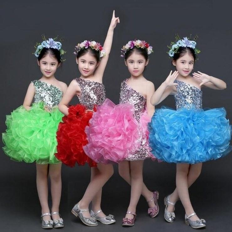 Charming Princess Pageant Flower Girl Dress Bambini Party Occasioni speciali Bambini Dress Performance Prom Dress GHST125