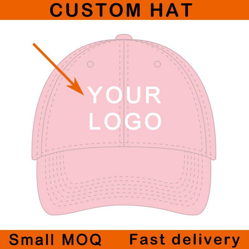 Kavisli ağız bükülmüş vizör 6 paneller kabartmalı nakış ismarlama logo spor kap ayarlanabilir boyutu özel beyzbol şapkası
