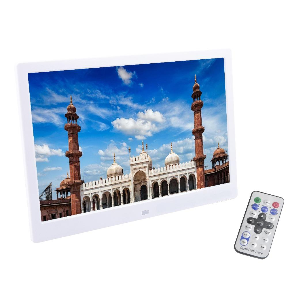 wholesale 13 Inch TFT Screen LED Backlight HD 1280*800 Full Function Digital Photo Frame Electronic Album Picture Music Video Good