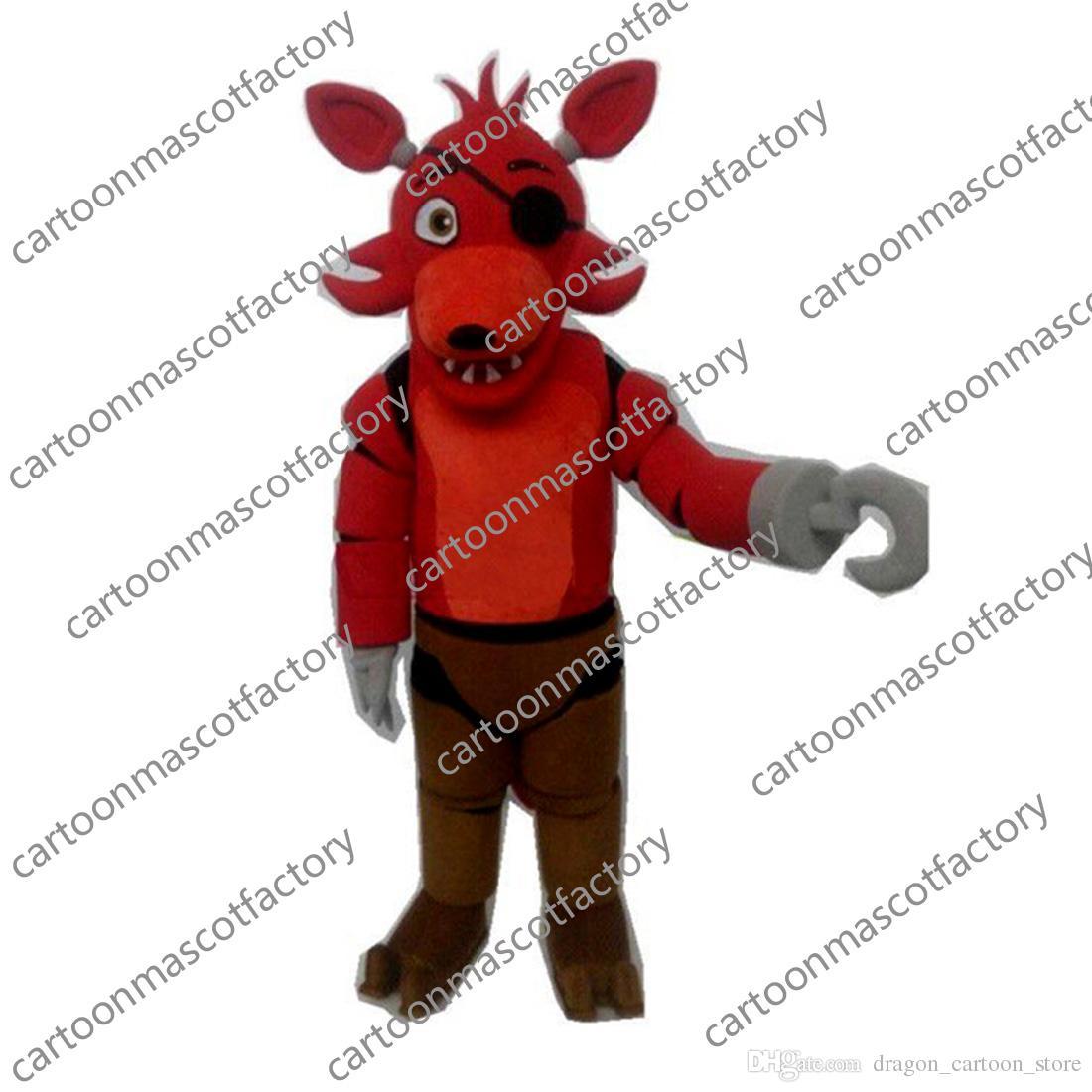 Five Nights At Freddy/'s FNAF Toy Fox Mascot Costume Cartoon Halloween Mascot