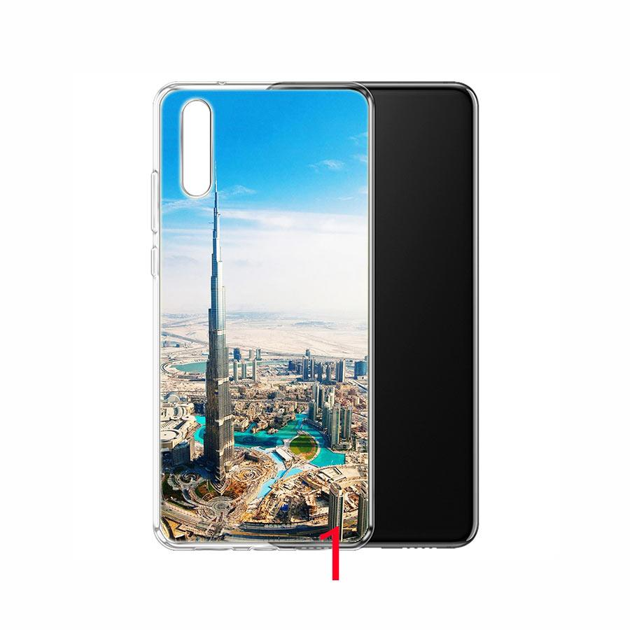 Dubai City Architectural Landscape Soft Silicone TPU Phone Case For Huawei  Honor 7A Pro 6A 7X 8 Lite 9 Lite 10 Cover Cute Cell Phone Cases Cell Phone