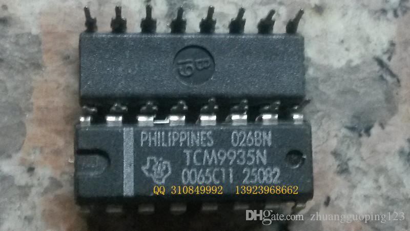 Darmowa wysyłka TCM9935N, 16 podwójnych elementów elektronicznych igły, zintegrowane układy obwodowe, IC ,, komponenty elektroniczne