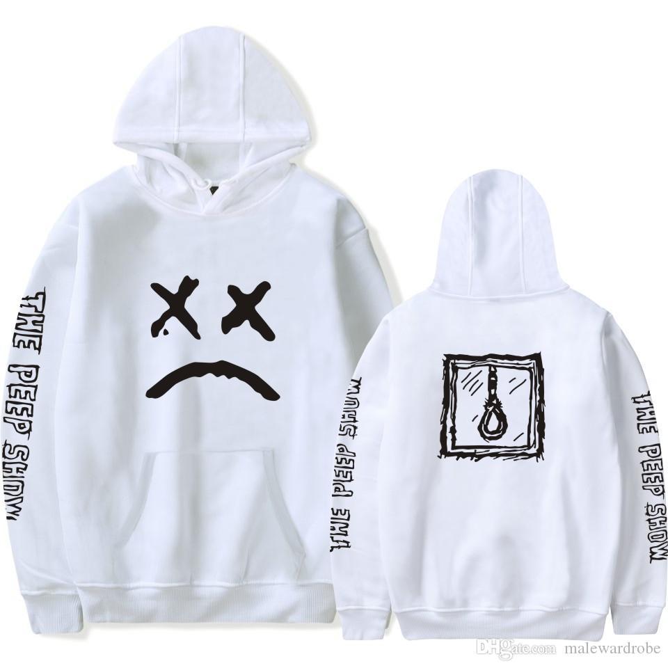 Lil Peep Erkekler Moda Hoodies Kapşonlu Polar Sonbahar Yeni Tişörtü Genç Genç Erkek Kazaklar