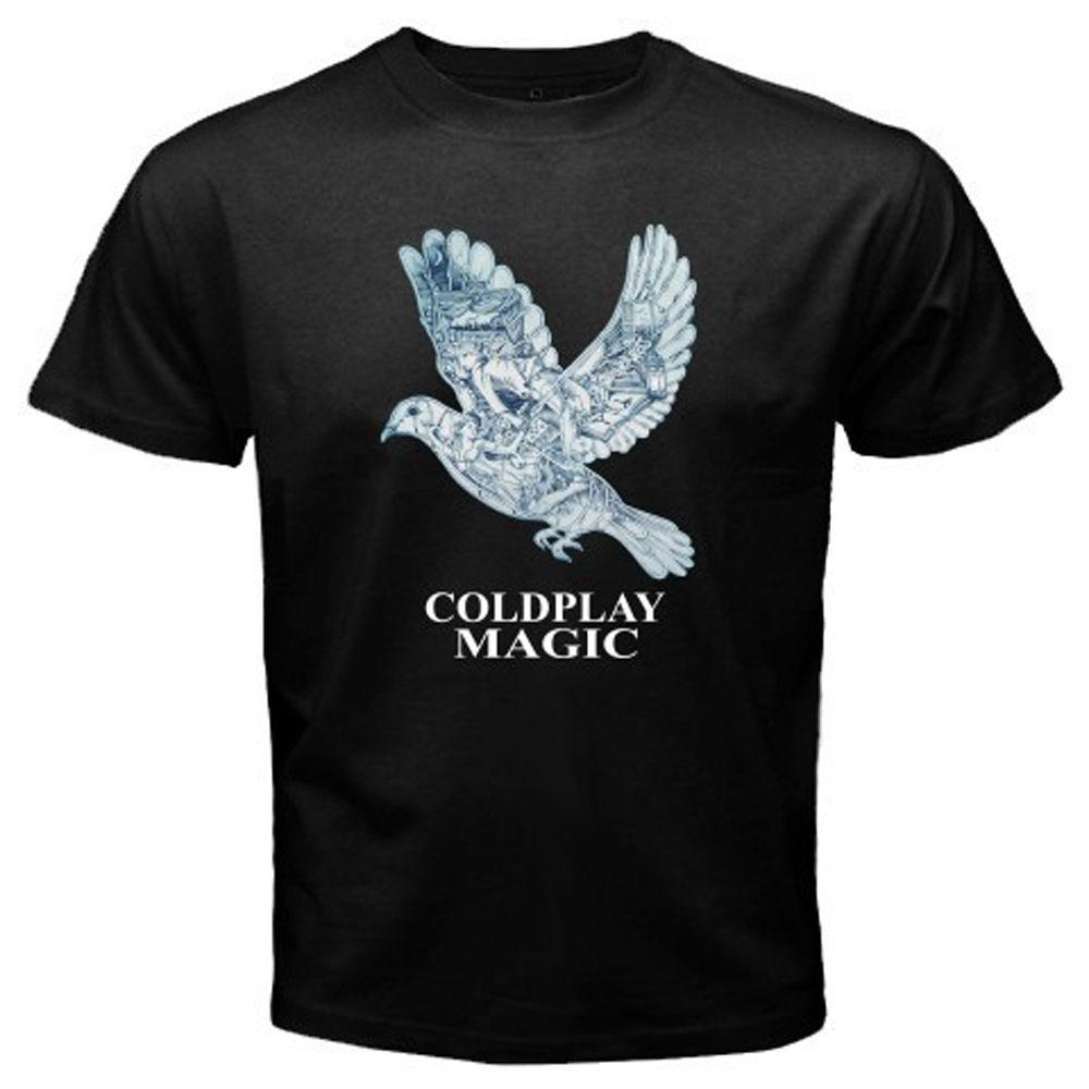 COLDPLAY *Magic British Rock Band Men/'s Long Sleeve Black T-Shirt Size S-3XL