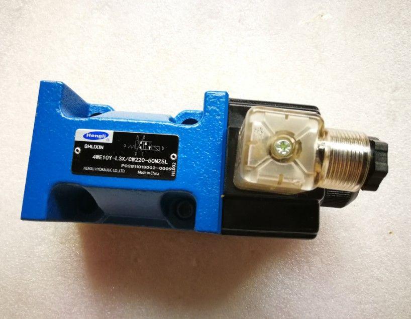 Valvola di controllo idraulico SHLIXIN 4WE10Y-L3X / CW220-50NZ5L Elettrovalvola 4WE10Y-L3X / CG220NZ5L