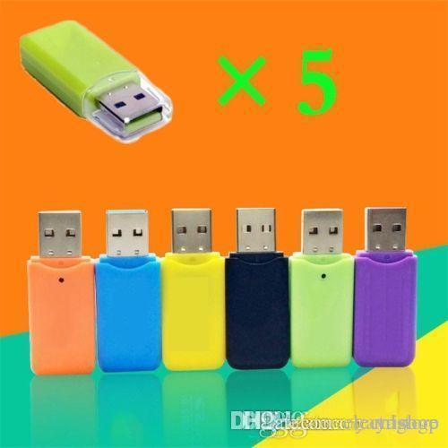 Fantastic Bravo WHOLESALES E266 10PCS TF Card Memory Card Micro Flash Card Reader USB 2.0 Support 1GB- 32GB 64GB