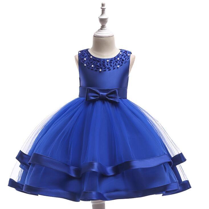 Compre 2018 Niñas De Verano Elegante Vestido De Navidad Vestidos De Fiesta Para Niños Vestidos De Fiesta Para La Princesa De Noche Formal Vestidos