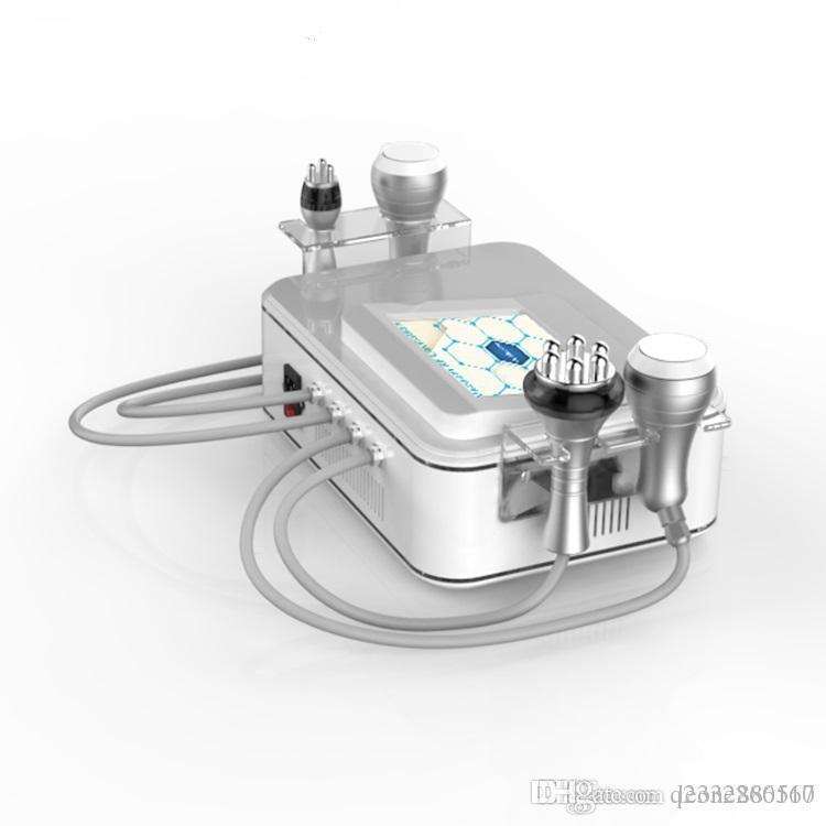 شفط الدهون بالموجات فوق الصوتية فائقة فراغ التجويف RF الجلد تشديد هيئة آلة التخسيس