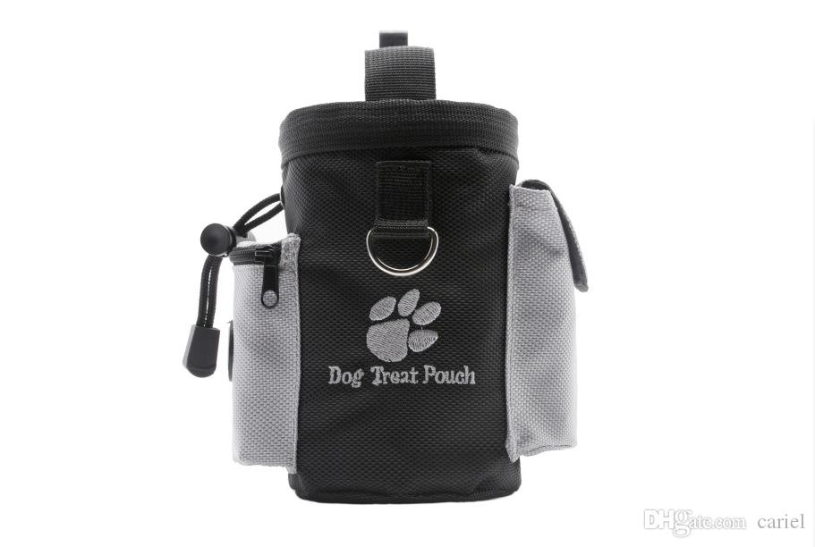 cariel Pet Dog Puppy Snack Bag Waterproof Obedience Hands Free Agility Bait Food Training Treat Pouch Train Pouch WN479B 100pc