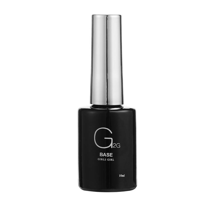GIRL2GIRL 10ml Matt Top Coat Rubber Base Coat Led Gel Nail Polish UV Nail Primer Soak Off UV Gel Manicure Art Salon