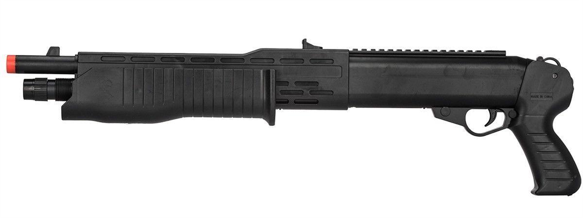 P2302 SPAS 12 POMPE ACTION RESSORT POUR PISTOLET AIRSOFT SHOTGUN w / 6s