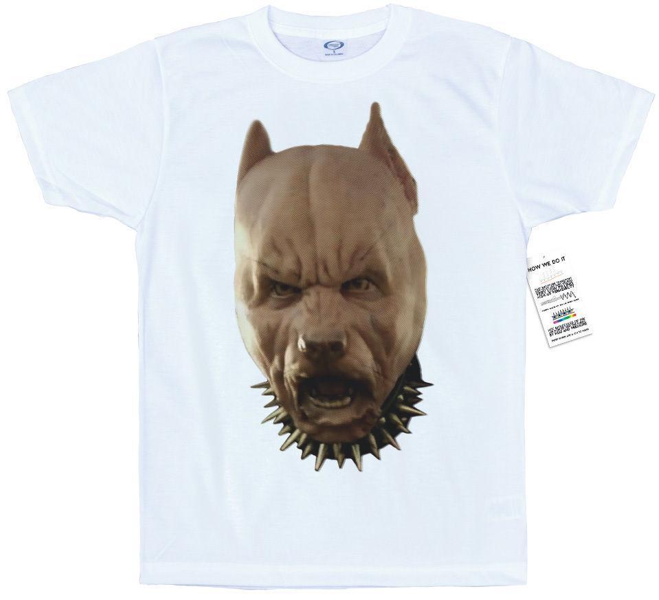 TEE SHIRT PITBULL DOG CHIEN PIT STAFF BULL du S au XXL
