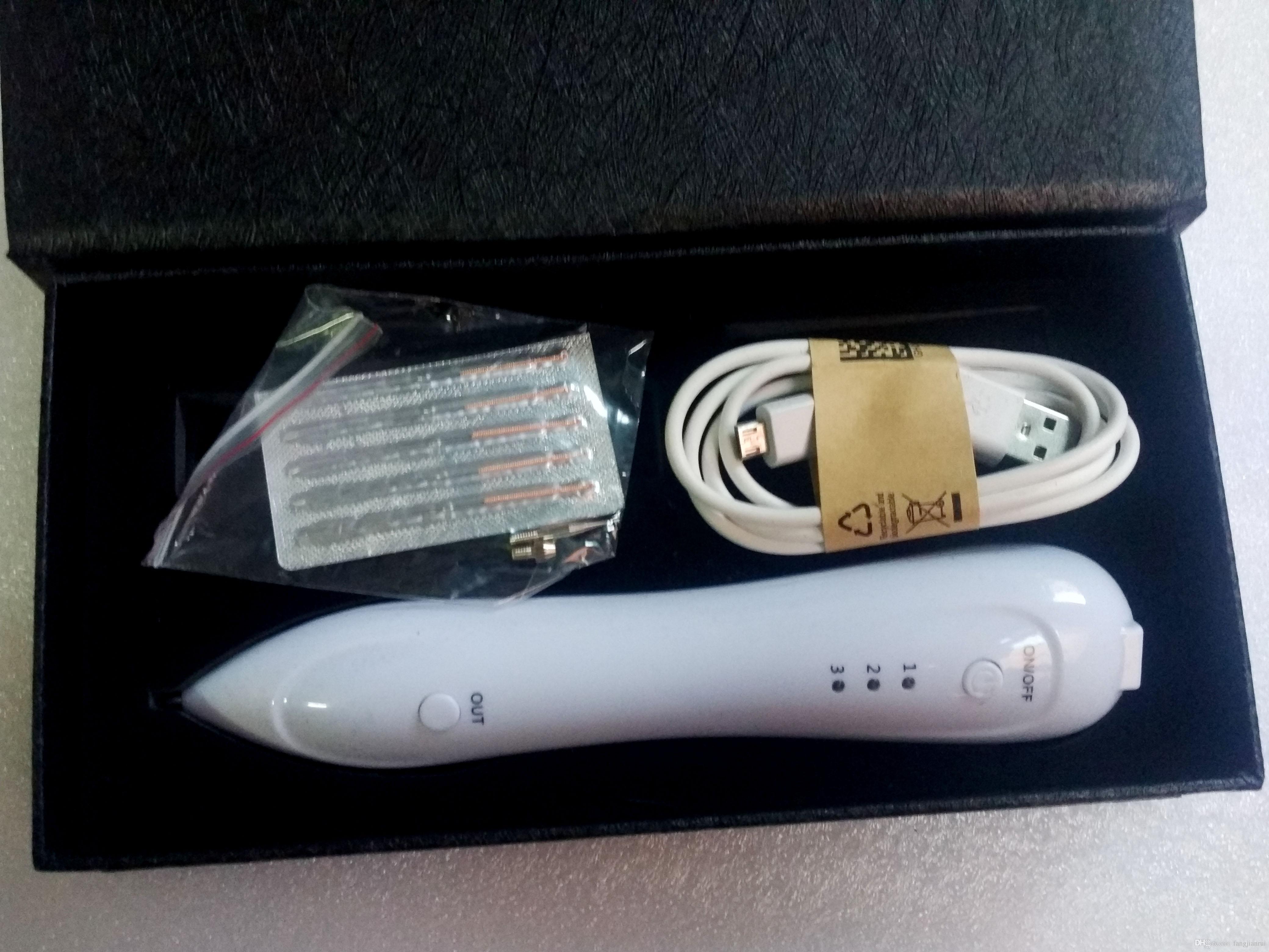 Date rechargeable miniature beauté point moles stylo de rousseur enlever tatouage Laser point naevus, tache de rousseur piégeage stylo plasma point machi