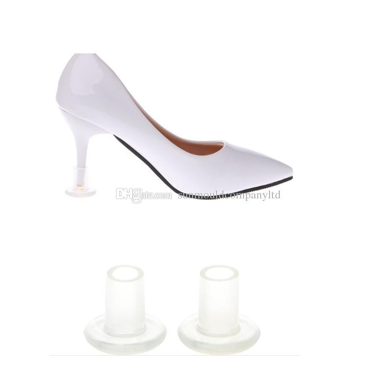 Tacco Alto Protector Latino Stiletto Copriscarpe Tacco a spillo Protezioni antiscivolo in silicone per la festa di nozze