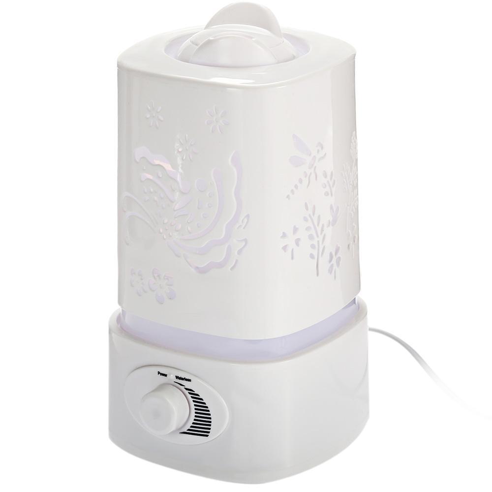 Purificatore d'aria Umidificatore ad ultrasuoni 5 in 1 Diffusore d'olio aromatico multifunzione Ionizzatore d'aria umidificatore portatile con lampada a LED Hot TB