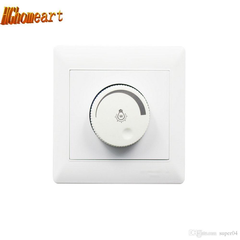 220V Controller Adjustable LED Dimmer Switch For Dimmable Light Bulb Lamp  A*