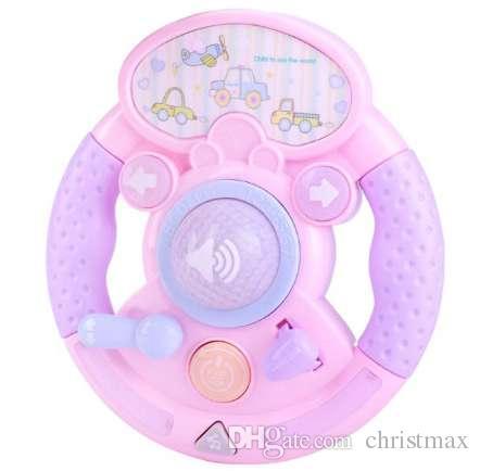 1 Stück Simulation Auto Lenkrad Klavier Frühe Pädagogische Musik Spielzeug für Kinder Kinder Infant Musikinstrumente Spiele Geschenke