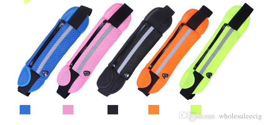Waist Pack Best Running Belt Fanny Pouch Waistband Case Holds All Cell Phones...