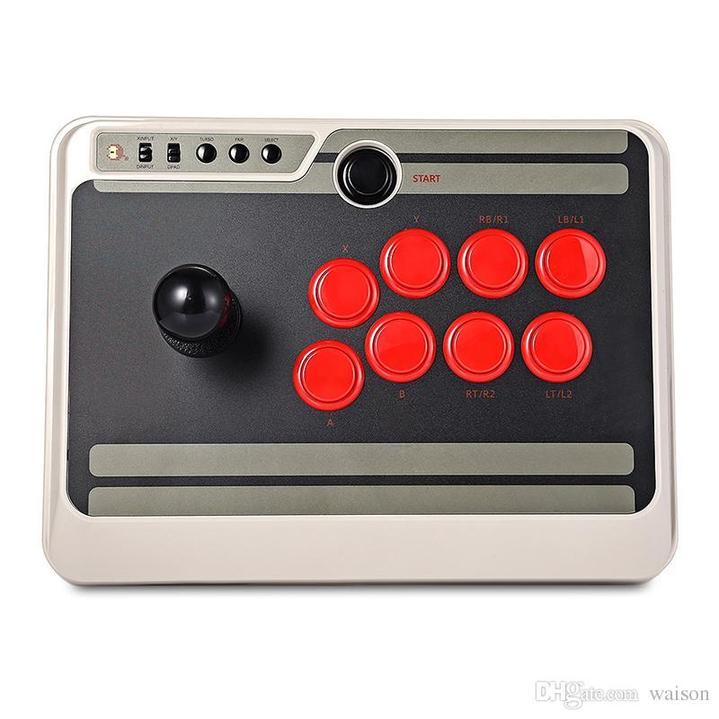 8Bitdo NES30 무선 블루투스 게임 컨트롤러 게임 패드 iOS 안드로이드에 대한 사용자 정의 블루투스 아케이드 게임 스틱 조이스틱