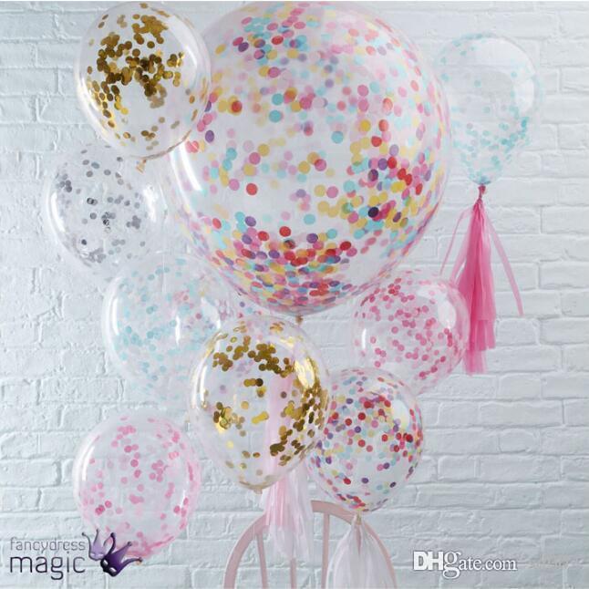 12 بوصة الترتر نفخ بالون الهواء رغوة اللاتكس بالونات سحرية جولة للمنزل حفل زفاف ديكور أطقم نوعية جيدة 2 4sl dd