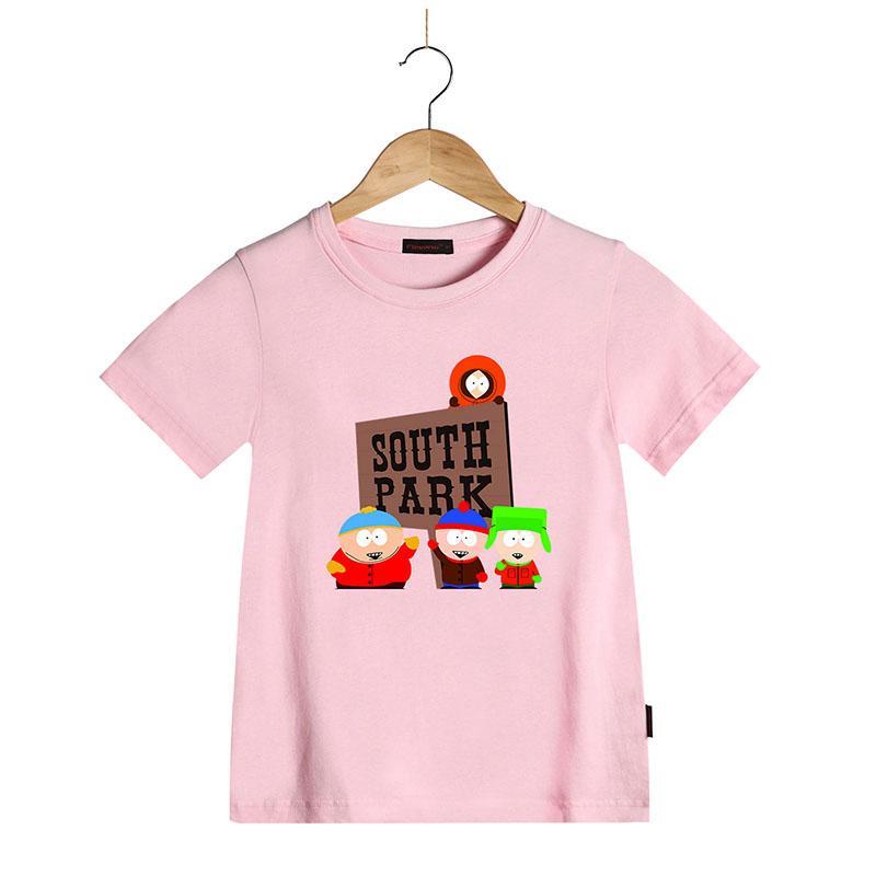 c612f374 New Summer Fashion Cotton T Shirt Children ' ;S Clothing Cartoon South Park  Tshirt Short Sleeve Top Tees For Boys Girls Kids