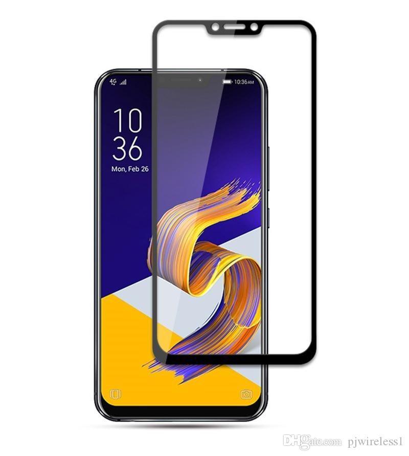 إلى Samsung Galaxy A10 A20 A30 A50 Galaxy M10 M20 M30 for LG Q7 Plus 3D Protector كامل خفف من الزجاج التجزئة التغليف D