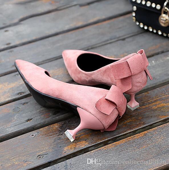여성 핑크 얇은 하이힐 구두 여성 섹시한 섹시한 발가락 검정색 베이지 드레스 사무실 커리어 신사 숙녀 결혼식 신발 여자