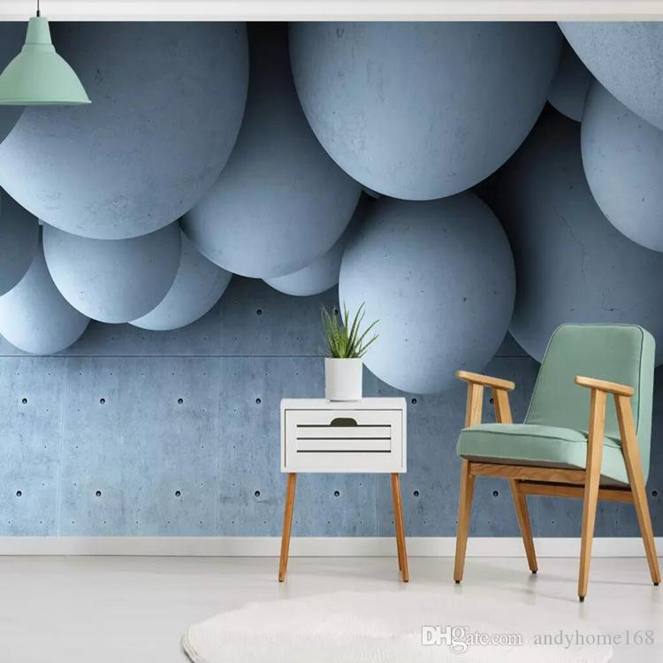 3d modern minimalist nordic geometric wallpaper wallpaper mural living room abstract TV background wall paper wall covering