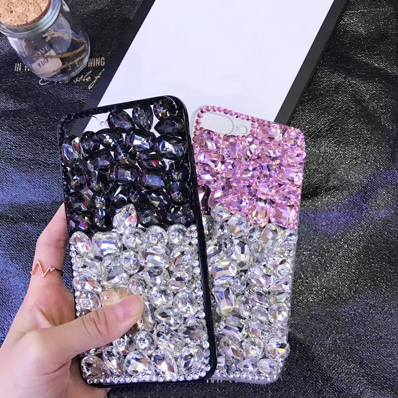 3D Bling Glitter Rhinestone Cover+Woman Crystal Diamond Case For Xiaomi mi 4s/Mi 6/Max/Redmi 5s Plus/Redmi 5A/Note 2/3/4x/5X/A1