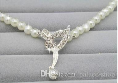 замечательный кристалл алмаза свадьбы набор ожерелье серьга (8,5) dfgfg