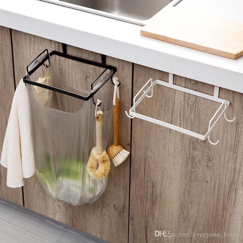 2019 Kitchen Shelf Iron Art Cabinet, Garbage Rack, Kitchen Garbage Rack,  Plastic Bag, Trash Bin Support Rack. From Everyone_home, $5.93 | DHgate.Com