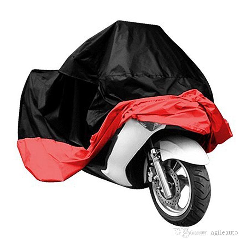 XXXL Waterproof Motorcycle Bike Cover Outdoor UV Dust Protector Silver US
