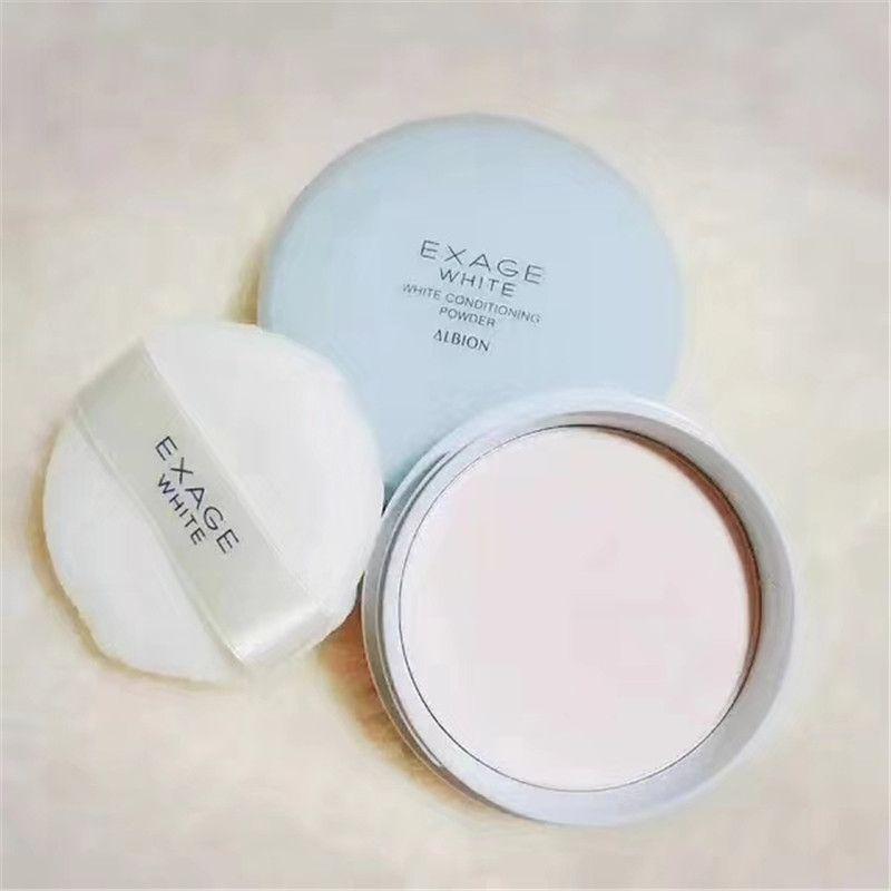 Polvo suave de la configuración del arreglo del arreglo del maquillaje del polvo de condicionamiento blanco de Albion Exage de la marca de Japón