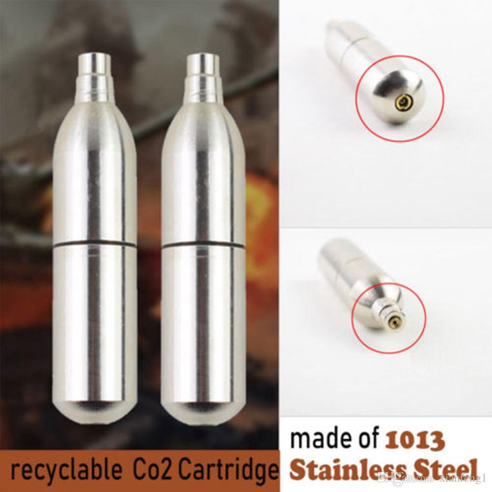 12g إعادة الملء خرطوشة CO2 خرطوشة كرات الطلاء بندقية الهواء أنظمة لالألوان Airsoft CO2 / الغاز الأخضر