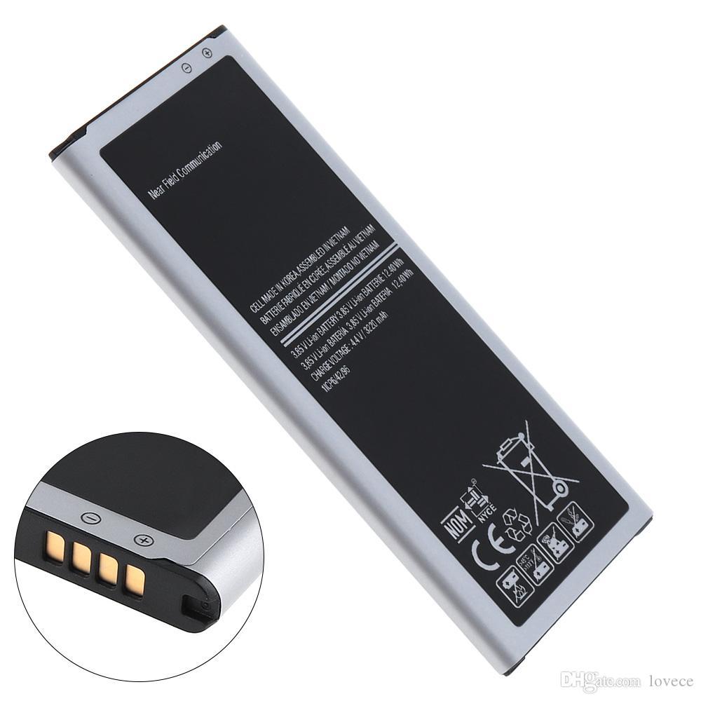 EB-BN910BBE 3.85V 3220mAh الهاتف المدمج في بطارية ليثيوم أيون استبدال الأصلي لسامسونج Note4 N9108V N9106V N9109W RRP_10I