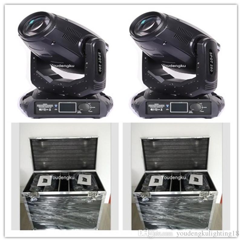 6 pz con flight case disko light 10r beam moving head dj lighting 280 watt moving head lights moving head lights in vendita