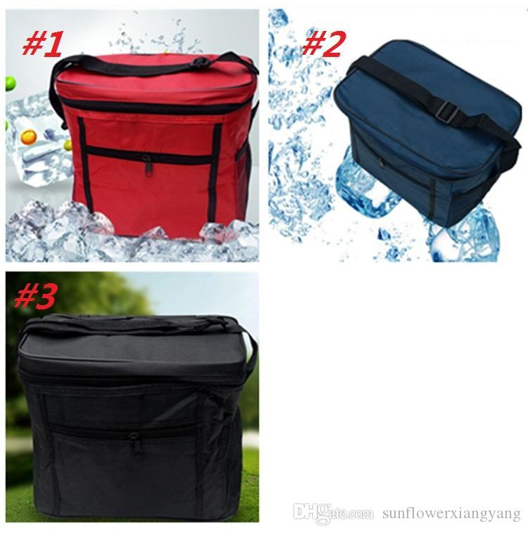 High Quality Oxford cloth Waterproof Keep Warm Ice Lunch Bag Insulated bag Tote Bag Portable Picnic handbag