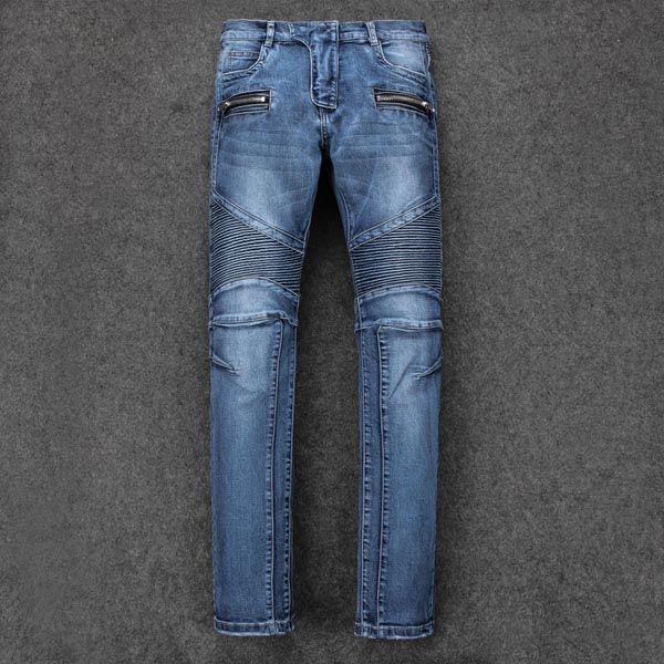 2019, die neue Marke Mode europäischen und amerikanischen Sommer Herrenbekleidung Jeans sind Männer Casual Jeans # 034-35-31-34