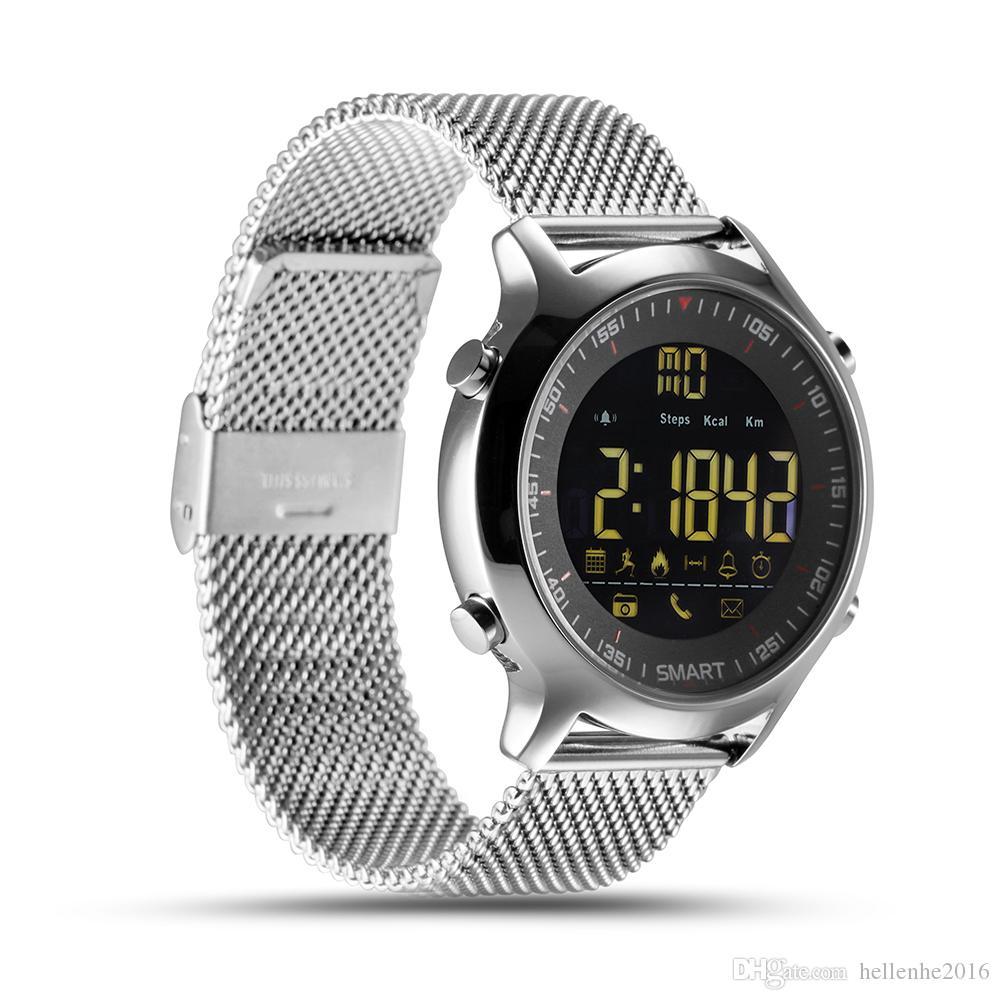 방수 IP68 Smart Watch 지원 Passometer 메시지 알림 울트라 롱 스탠바이 수영 스포츠 활동 트래커