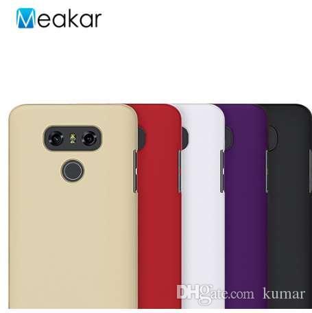 Grind sandähnliche Hartplastikschale 5.7For LG G6 Fall für LG G6 Handy zurück Fall