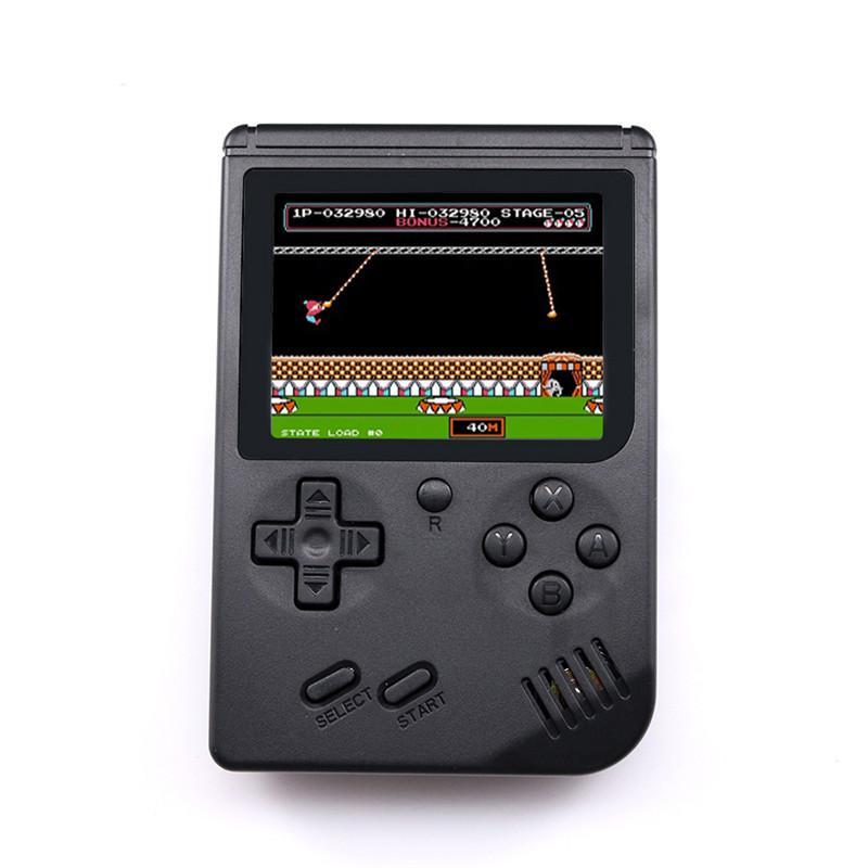 Retro Taşınabilir Mini El Oyun Konsolu 8-Bit 3.0 Inç Renkli LCD Çocuklar Renk Cep Oyun Oyuncu için En Iyi Çocuklar Hediye 168 Nostaljik Oyunlar