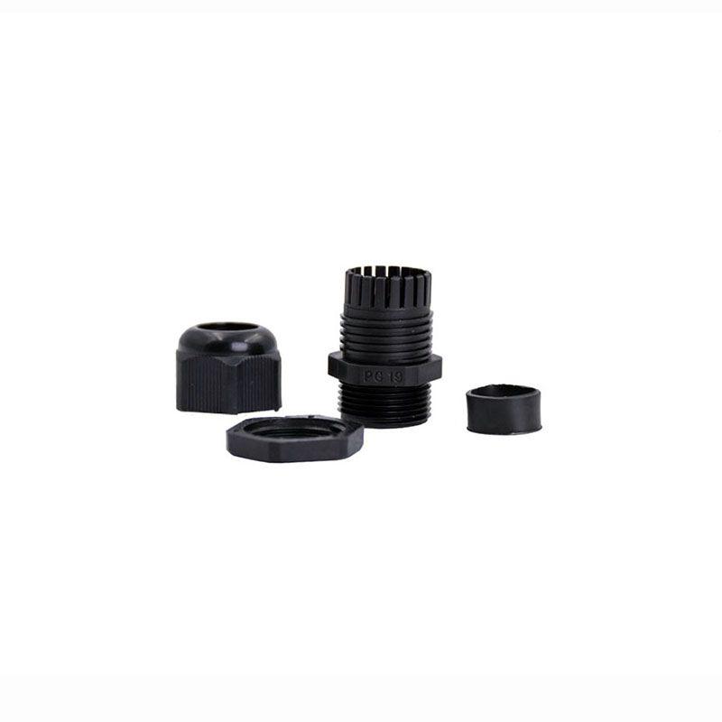 10pcs Pressacavi Suyep PG19 Nero Bianco Impermeabile Connettori in nylon regolabili Giunti con guarnizioni 12-16mm per apparecchi elettrici