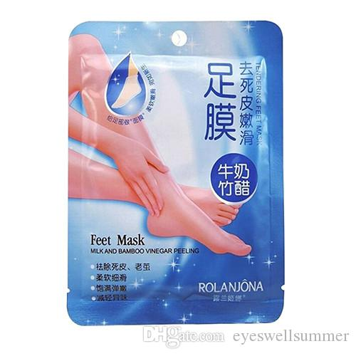 Baby Exfoliating Milk Bamboo Vinegar Foot Mask Peeling Renewal Remove feet mask Dead Skin Cuticles Beauty Feet Care
