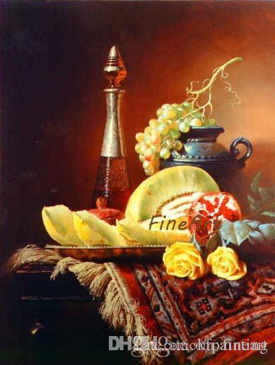 hand-painted oil wall art classical still life oil painting flower canvas art paintings home decoration oil painting picture wall décor