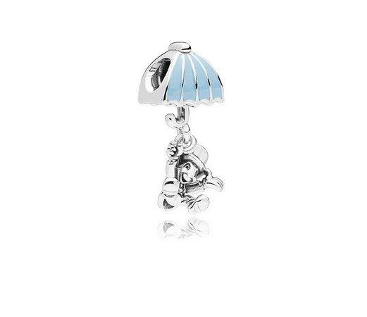 Fits Pandora Bracelets 30pcs Christmas Bear Umbrella Duck Enamel Charms Bead For Wholesale Diy European Sterling Necklace Jewelry Bracelet