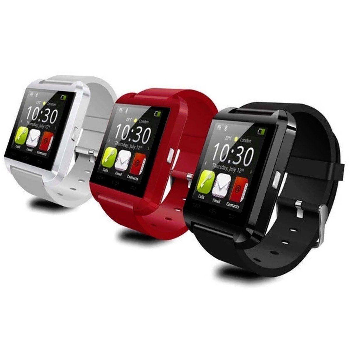 الأصلي بلوتوث u8 smartwatch ساعات المعصم شاشة اللمس ل i7 s8 الروبوت الهاتف النوم مراقب الذكية ووتش مع حزمة البيع بالتجزئة