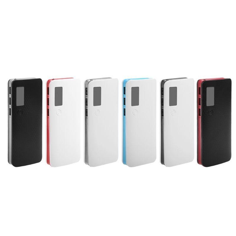 3 USB 포트 전원 은행 케이스 18650 휴대용 배터리 홀더 LCD 디스플레이 전화 용품 무료 배송